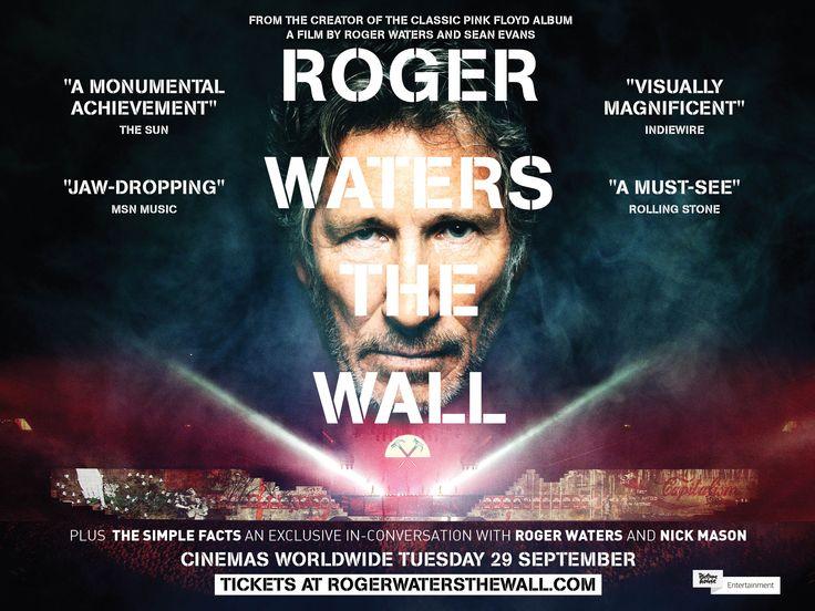 """Efsanevi vokalist Roger Waters imzası taşıyan """"Roger Waters The Wall"""" tüm dünya ile aynı anda 29 Eylül 2015'te Eskişehir Espark Cinemaximum'da gösterime giriyor."""