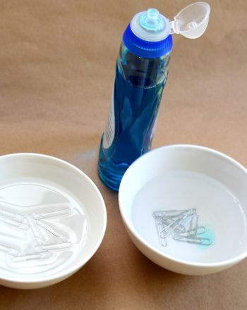 Learn with makes water molecules work with this fun and easy science activity!