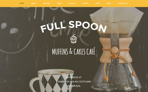 Full Spoon - Restaurant Template