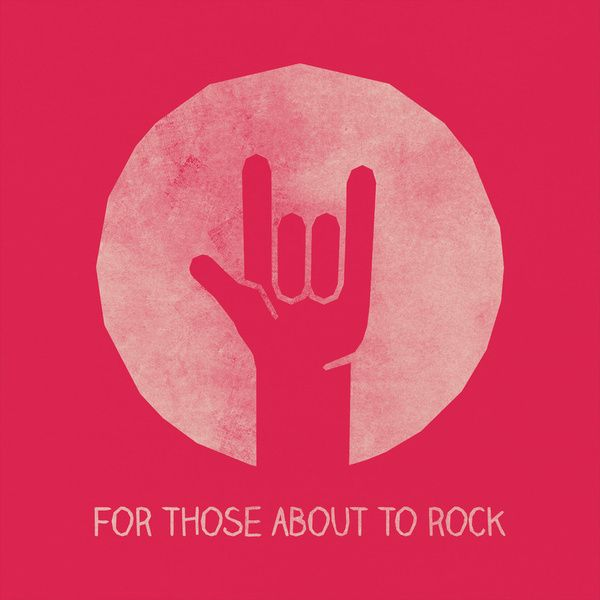 ☮ American Hippie Music Art Lyrics Quotes ~ AC/DC .. For Those About To Rock.. lol love when deeka does this_attempts anyway