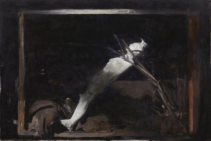 """Nicola Samorì """"Corpo d'estasi"""" 2012"""