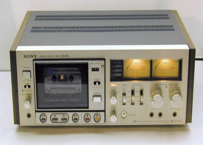 RARE Sony TC-K7II Vintage Stereo Cassette Deck - Cleaned and Serviced