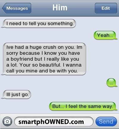 Sweet romantic text for her