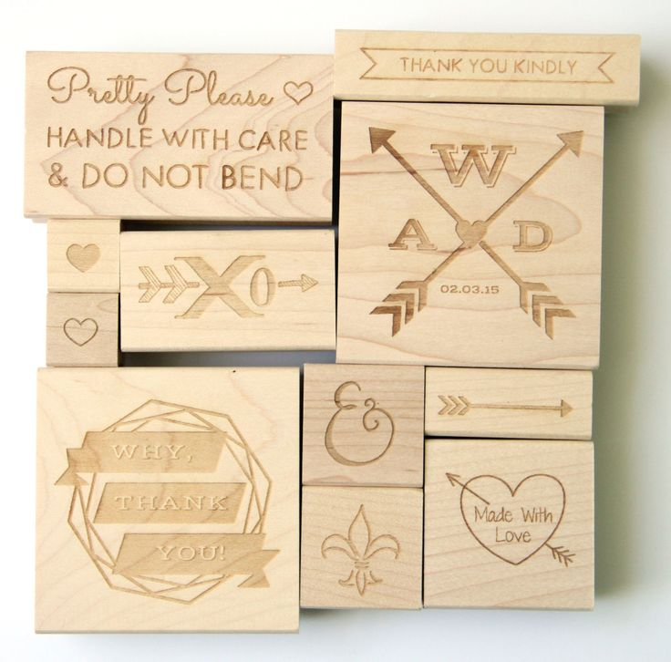 The Petite Package NEW stamp collection! Custom and pre-made rubber stamp designs for weddings, crafts, scrpbooking, mailing, branding, and packaging!