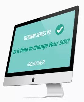 #Webinar – Is it time to change your SOX? #2 http://www.resolver.com/resource/is-it-time-to-change-your-sox-2/
