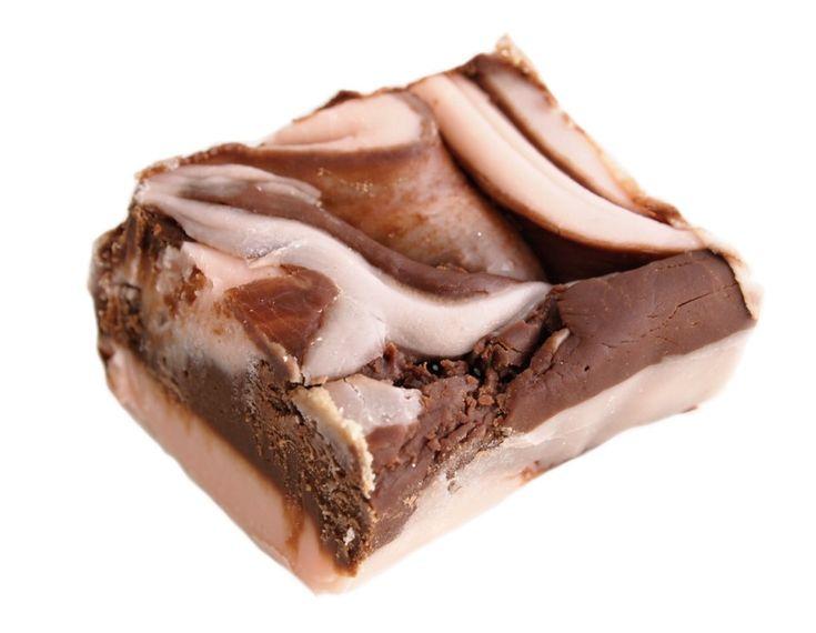 Amaretto Chocolate Swirl #fudge #shop