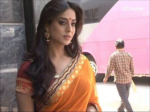 mahie gill looking gorgeous in saree for saheb biwi aur gangster returns.