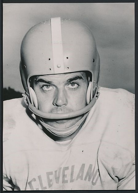 1950's Wire Photo OTTO GRAHAM Cleveland Browns – FIERCE Portrait !