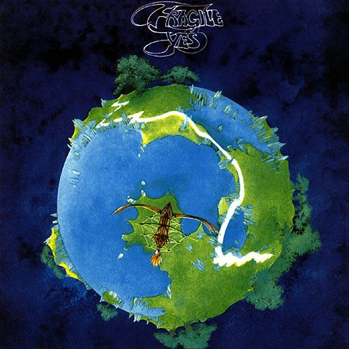 "YES - ""Fragile"" 1971 - YES pioneered the use of synthesizers and sound effects in modern music and they produced such timeless, symphonic-rock masterworks. I never missed a concert when they were playing anywhere along the east coast!"