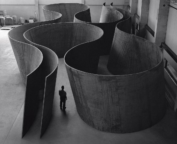 "Angela Fung: ""My hero"". Richard Serra, Inside Out, at the Gagosian Gallery, 2013."