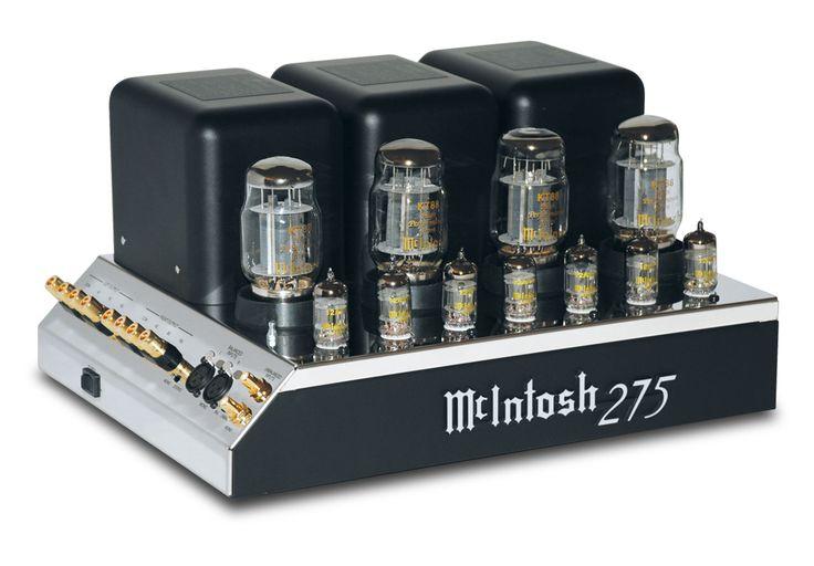 McIntosh MC275 Amplifier, Vacuum Tube Amplifiers, Tube Amplifiers Mcintosh MC275