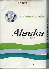 Alaska sigaretten