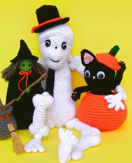 Amigurumi Zeitschrift Halloween : 326 best images about Halloween - crochet on Pinterest ...