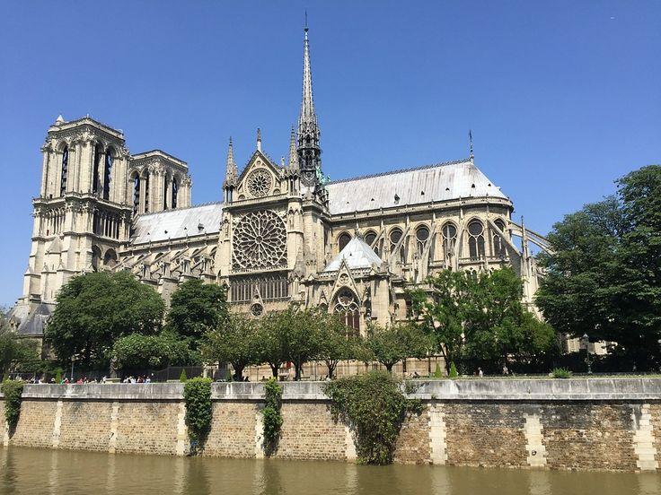 Notre-Dame, Paris, Katedral, Bygning, Gotisk, Katolsk