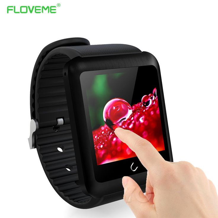New FLOVEME D5 Smart Watch - Sim Card With Android IOS, Bluetooth Connectivity, Remote Camera, Intelligent Clock, Sport Bracelet Band //Price: $105.58 & FREE Shipping //     #hashtag2