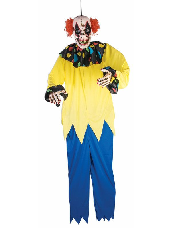 Check out 6 Sinister Clown Prop - Scary Clown Props Decorations & Props from Costume Super Center