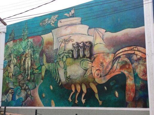 Mural, Barrio Inglés
