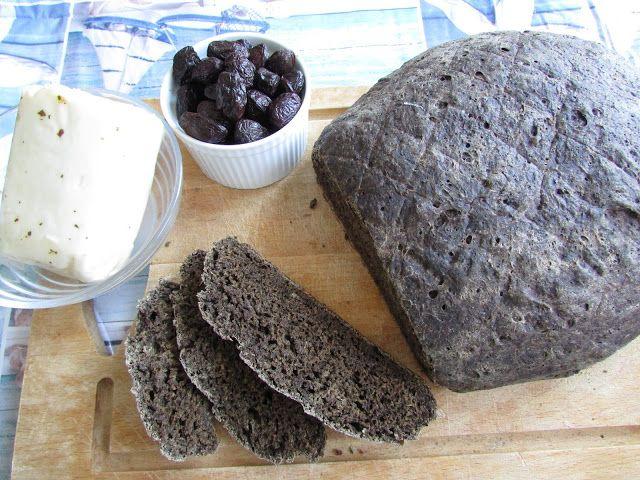 Greckie smaki: Chleb z mączką karobową