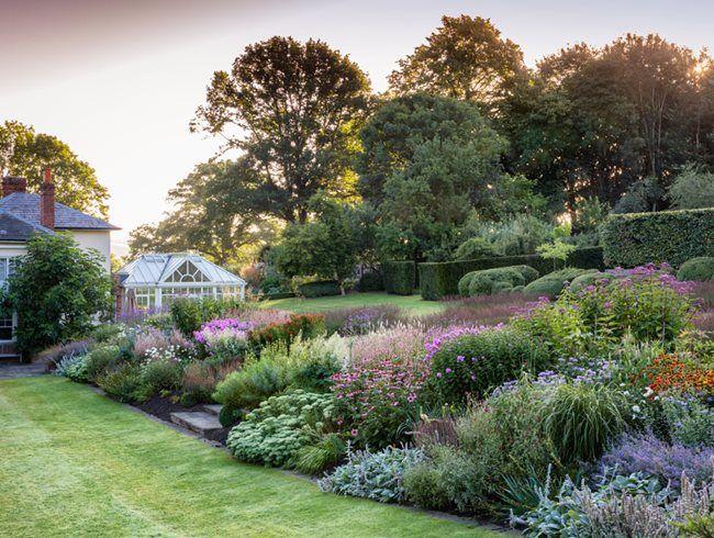 Stylish And Structured Garden Garden Design Magazine English Garden Garden Design