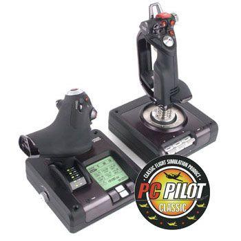 Saitek X52 Pro Flight Control System  Joy Stick & Throttle                    : image 1