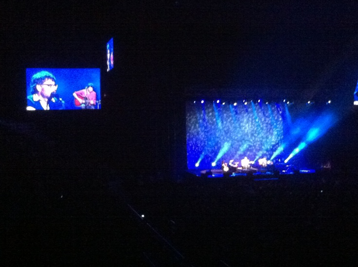 Flight of the Conchords @ Rod Laver Arena, Melbourne: Photos, Mobile Phones, Flight, Melbourne
