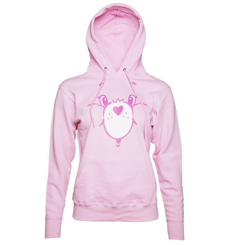 TruffleShuffle Damen Care Bears Cheer Bär Gesicht Hoodie Cosy up Care Bears-style in this cute Hoodie! Featuring the sweet smile of Cheer Bear, you cant fail to feel good when snuggling up in this pastel pink creation. http://www.MightGet.com/february-2017-3/truffleshuffle-damen-care-bears-cheer-bã¤r-gesicht-hoodie.asp