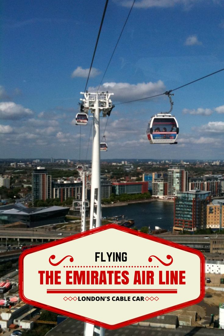 The Emirates Air Line is London's only Cable Car and offers a unique perspective of London as you cross the River Thames! onepennytourist.com