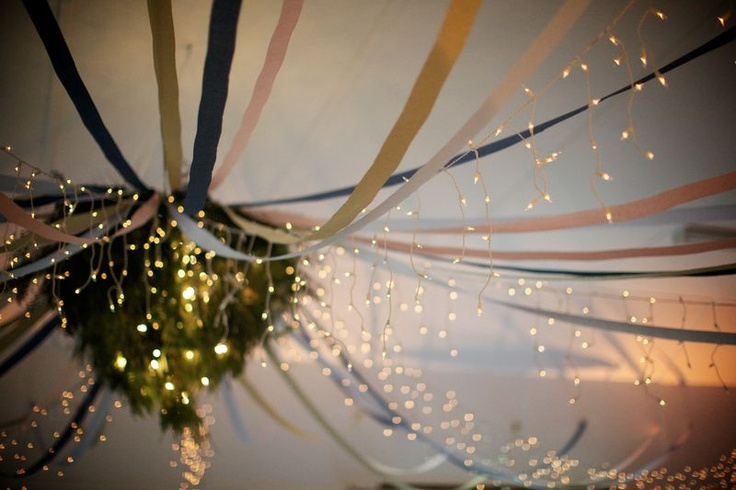 Ribbons and fairy lights