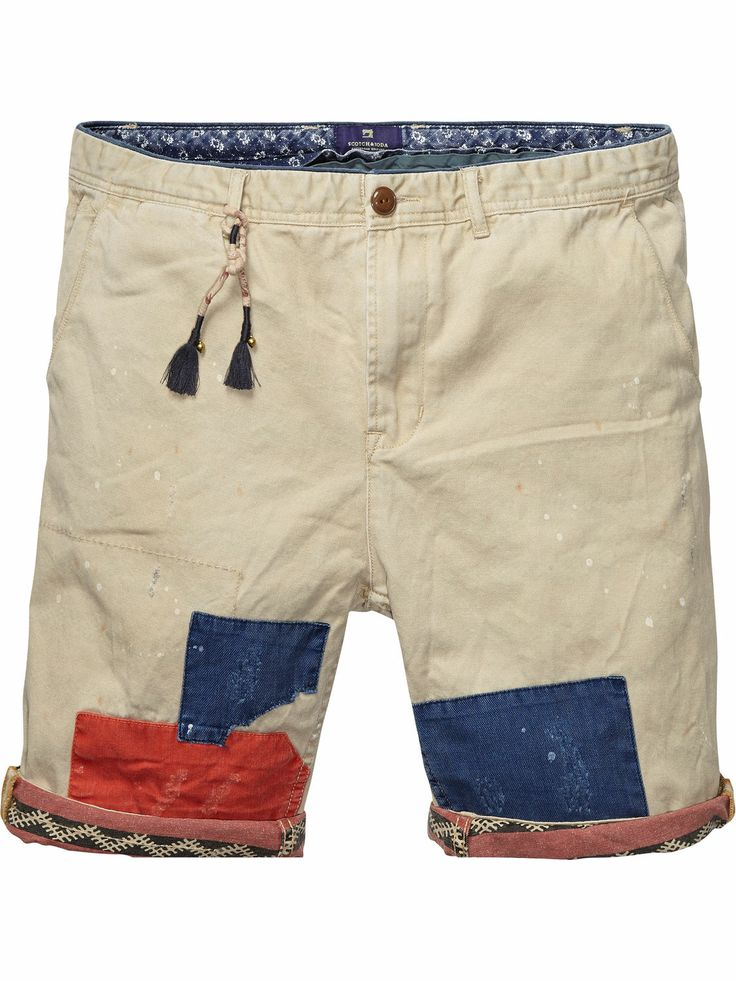 Scotch & Soda chino shorts.