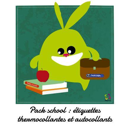 La solution pour marquer les affaires de vos petits écoliers : vêtements comme objets (livres, fournitures scolaires, équipements sportifs, chaussures). Une chose est sur, avec SIGNOO la rentrée sera réussie ! http://www.signoo.com/fr/20/etiquettes-vetements-stickers-ecole.html