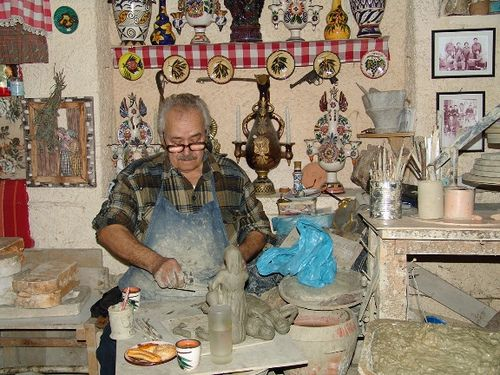 Agiassos is a colourful traditional village, in the centre of the island of Lesvos. The local ceramists keep the secrets of this ancient art. http://www.house2book.com