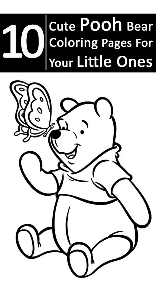 10 Cute Pooh Bear Coloring Pages For Your Little Ones # ...