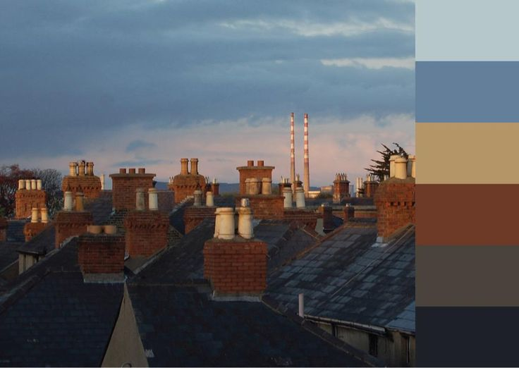 Turfprojects.ie Dublin Cityscape Colour Palettes Design Inspiration Ireland