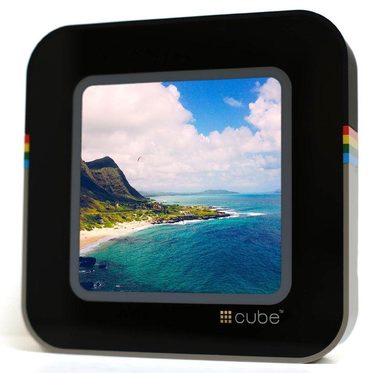 Instacube Digital Wi-fi Touchscreen Photo Viewer Instagram