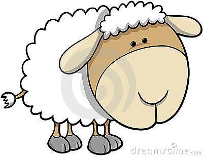 вектор овец иллюстрации