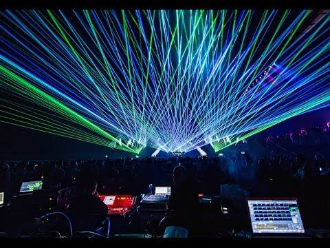how to make a laser show