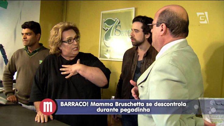 Mulheres - Mamma Bruschetta cai em pegadinha (31/07/15)
