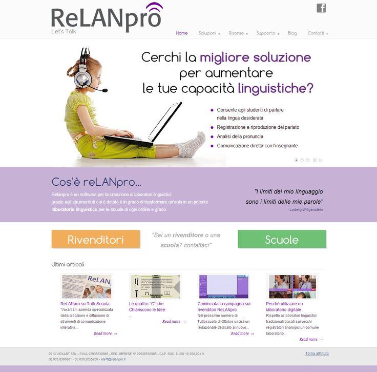 Sito web realizzato da VoxArt  www.relanpro.it