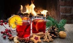 Kerstthee met de heerlijke geuren die bij Kerstdagen horen.