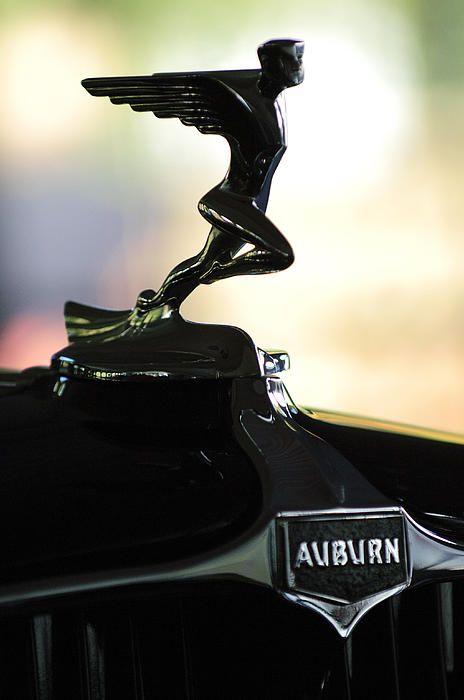 1932 Auburn 12-160 Speedster Hood Ornament - Car Images by Jill Reger