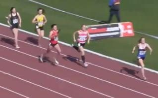 The most incredible finish to a 4x400m race you will ever see