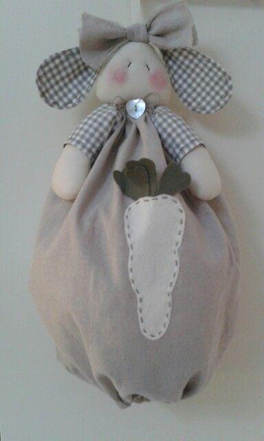 Coniglietto porta buste