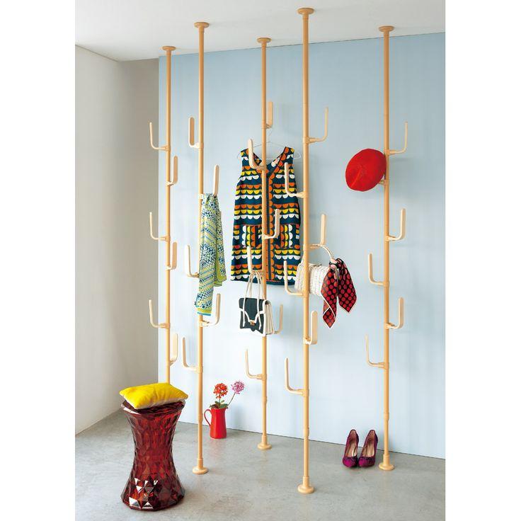 Wood 突っ張りスタンド 家具収納・インテリア雑貨専門 通販のハウススタイリング(house styling)