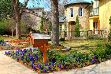 Mediterranean Exterior by Denver Landscape Architects & Landscape Designers Twisted Vine Design