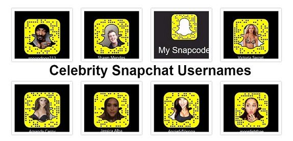 find celebrity snapchat users - Yahoo Image Search Results