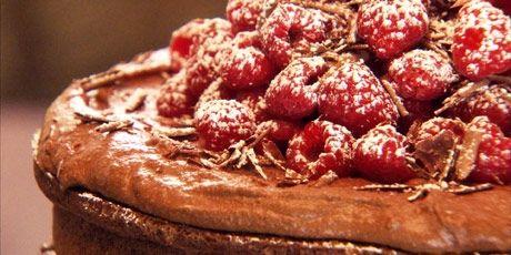 Chocolate Raspberry Cake Recipe- Chuck's day off