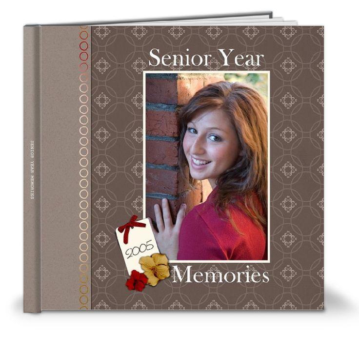 Senior Year Scrapbook Ideas   Shutterfly Gallery senior year photo book