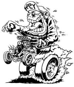 858 Best Dap Of Ratfink Cartoon Art 2 Images On Pinterest Rat Fink Coloring Pages
