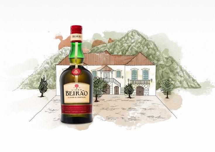 O licor, antes de se chamar Beirão, já se fabricava na Lousã há mais de um século. É somente em 1929 que passa a intitular-se Licor Beirão, continuando a ser o Licor de Portugal.