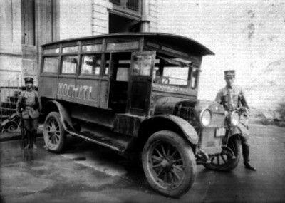 1915 Camion de pasajeros Toluca-Mexico
